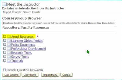 listing of lor folders